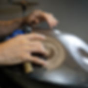 Hang Drum, handpan drum tuning, handpan tuning hammer