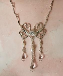 Necklace in filigree