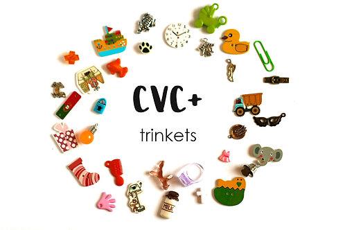 CVC+ I spy trinkets, 1-3.5cm, 33/50 objects Handmade by TomToy