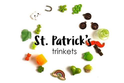 Saint Patrick's day Theme I Spy trinkets, 1-3cm, Set of 20
