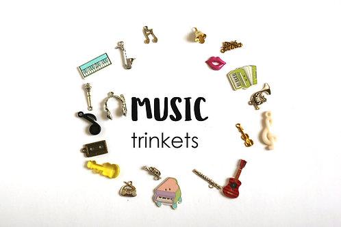 Music theme I Spy trinkets, 1-3cm, Set of 20