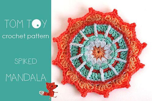 Spiked Mandala Crochet PATTERN