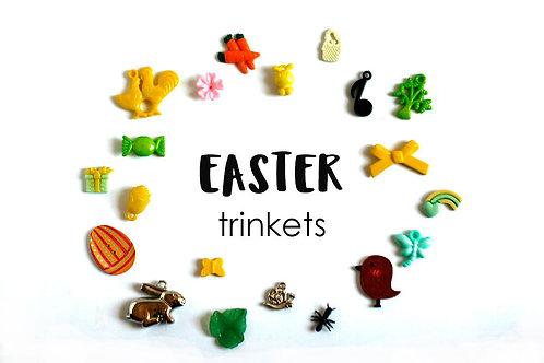 Easter Theme I Spy trinkets, 1-3cm, Set of 20