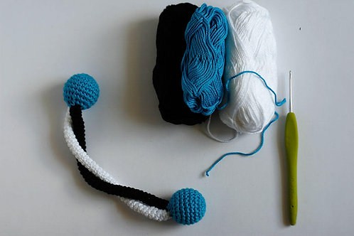 Braid crochet Rattle Handmade by TomToy