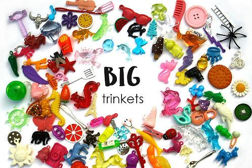 BIG mixed I spy trinkets for I spy sensory bins, 2.5-6 cm, Set of 20/50/100