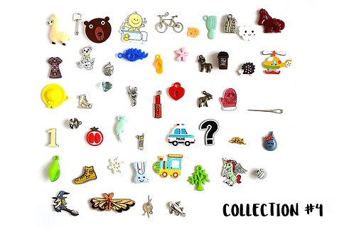 I spy trinkets Collection #4, 1-4cm, Set of 50 trinkets