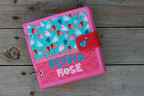 Little Personalized Quiet book, handmade by TomToy