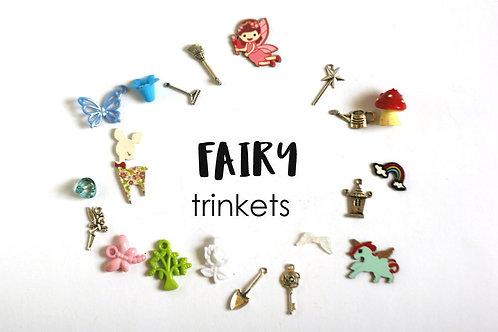 Fairy Theme I Spy trinkets, 1-3cm, Set of 20