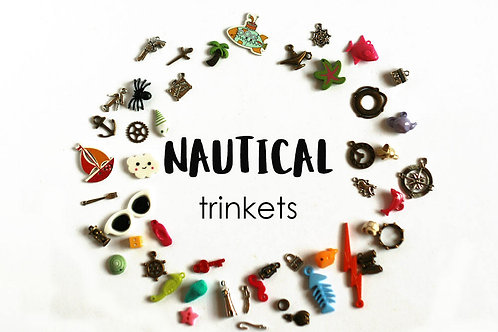 Nautical Theme I Spy trinkets, 1-3cm, Set of 50