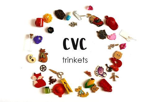 CVC I spy trinkets, 1-3.5cm, 38 objects Handmade by TomToy