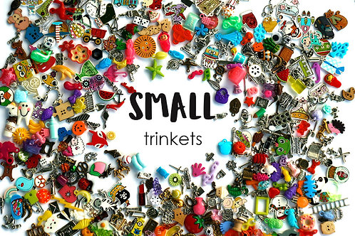 Small Mixed I Spy trinkets for I spy Bag/ Bottle, 1-3cm, Set of 20-500