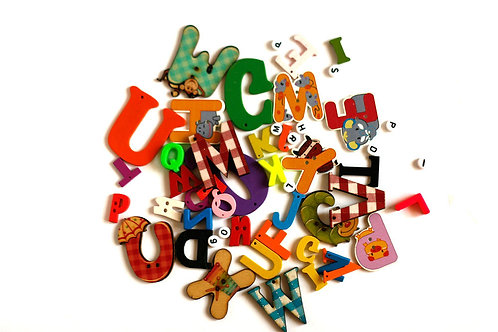 Mixed Letters I spy trinkets TomToy