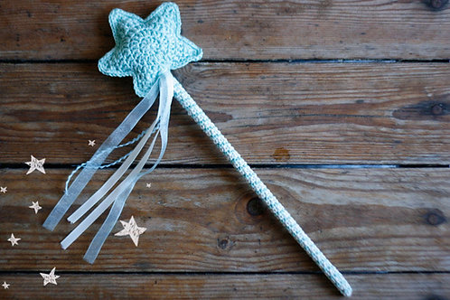 Crochet Magic Wand Handmade by TomToy