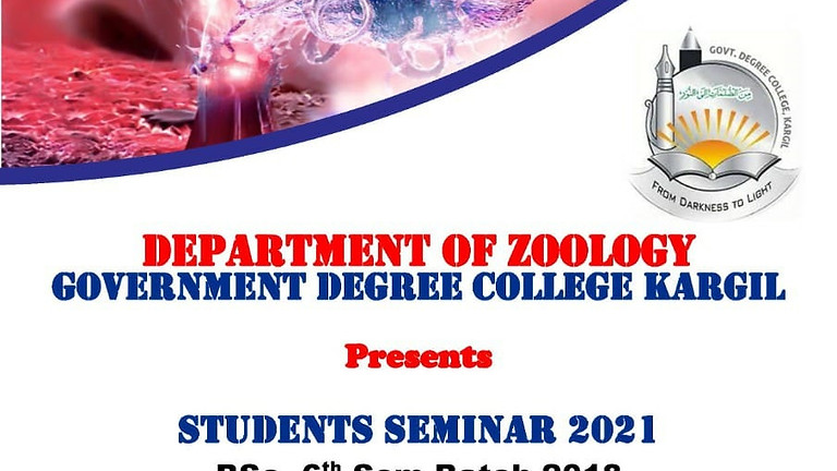 Department of Zoology organises webinar on Immunology
