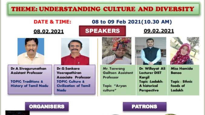 Understanding Culture and Diversity