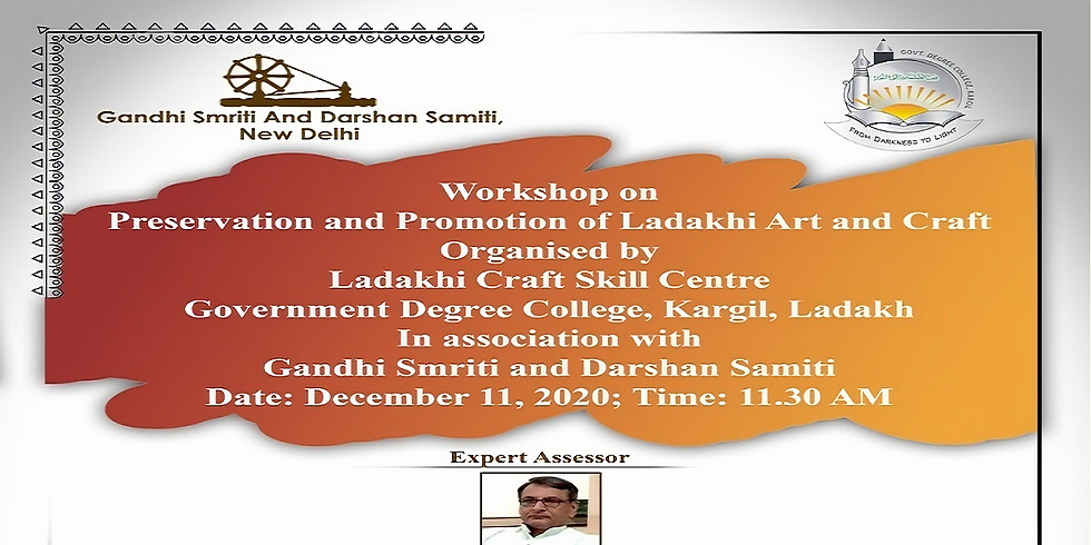 Workshop on 'Preservation and Promotion of Ladakhi Art and Craft