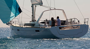new oceanis 45, 4 cabins yacht charter in Sicily and Aeolian Island. sailing boat avilable to rent and visit Mediterranean Islands