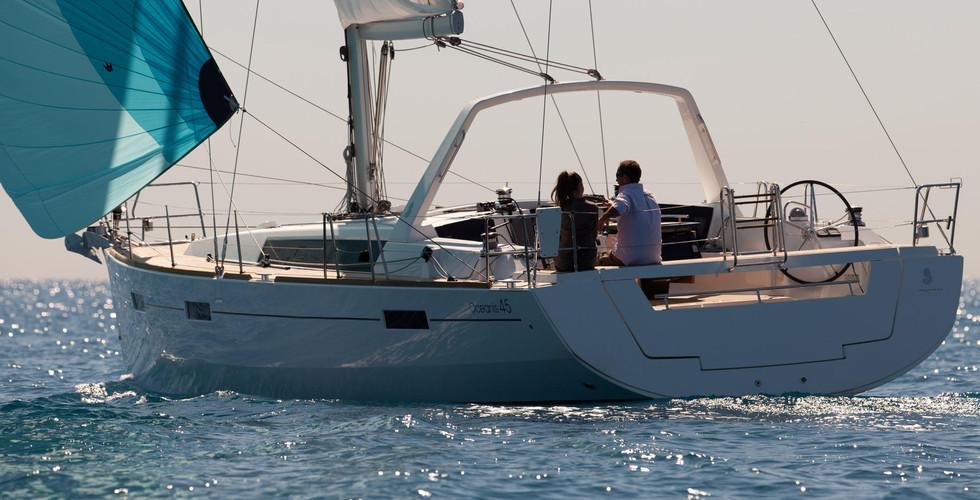 oceanis45 Sun Sicily yacht charter - Isole Eolie