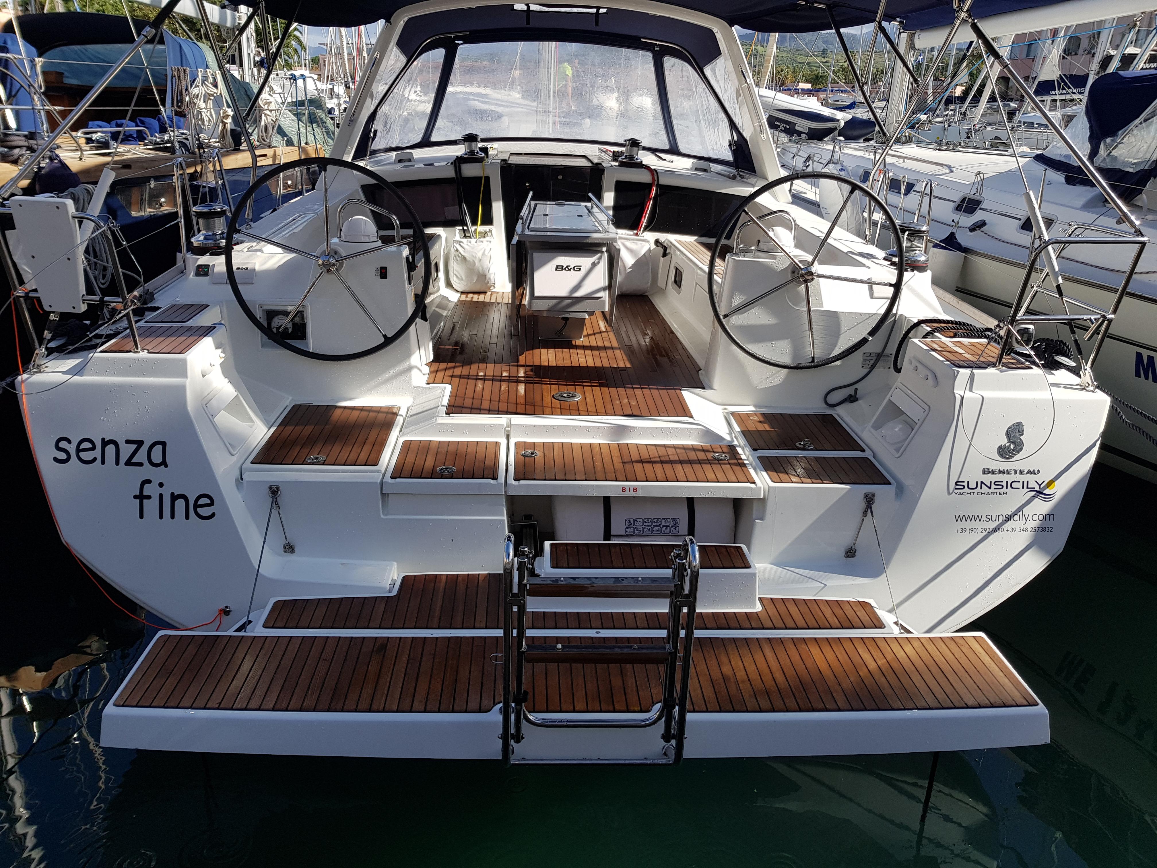 oceanis 48 Sun Sicily Yacht charte