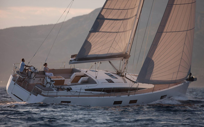 jeanneau 54 5 cabine a noleggio  Capri Ischia Salerno