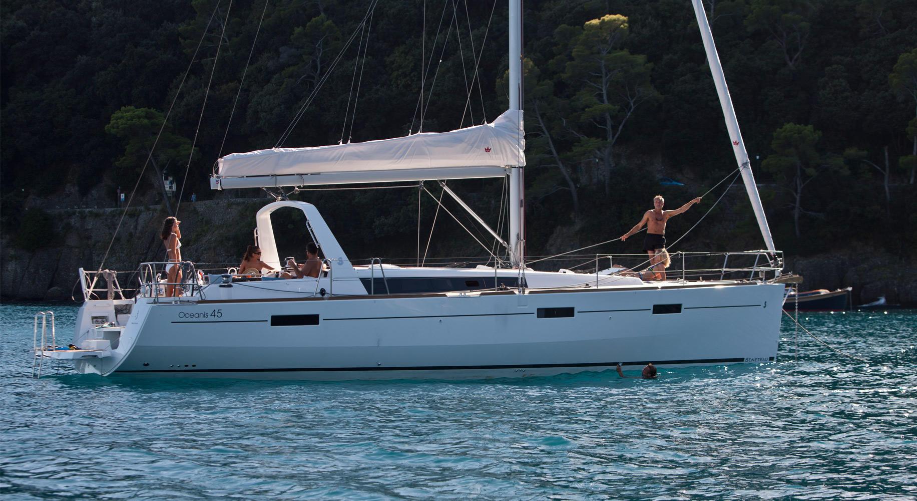 oceanis45 yacht charter