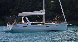 oceanis 45, 45ft monohull availafor charter to rent in Portoros