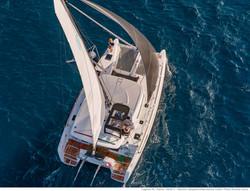 catamaranolagoon 40 dall alto