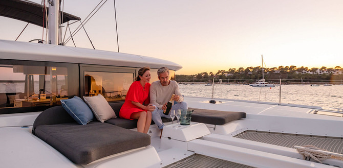 lagoon 46 yacht in charter da Cagliari