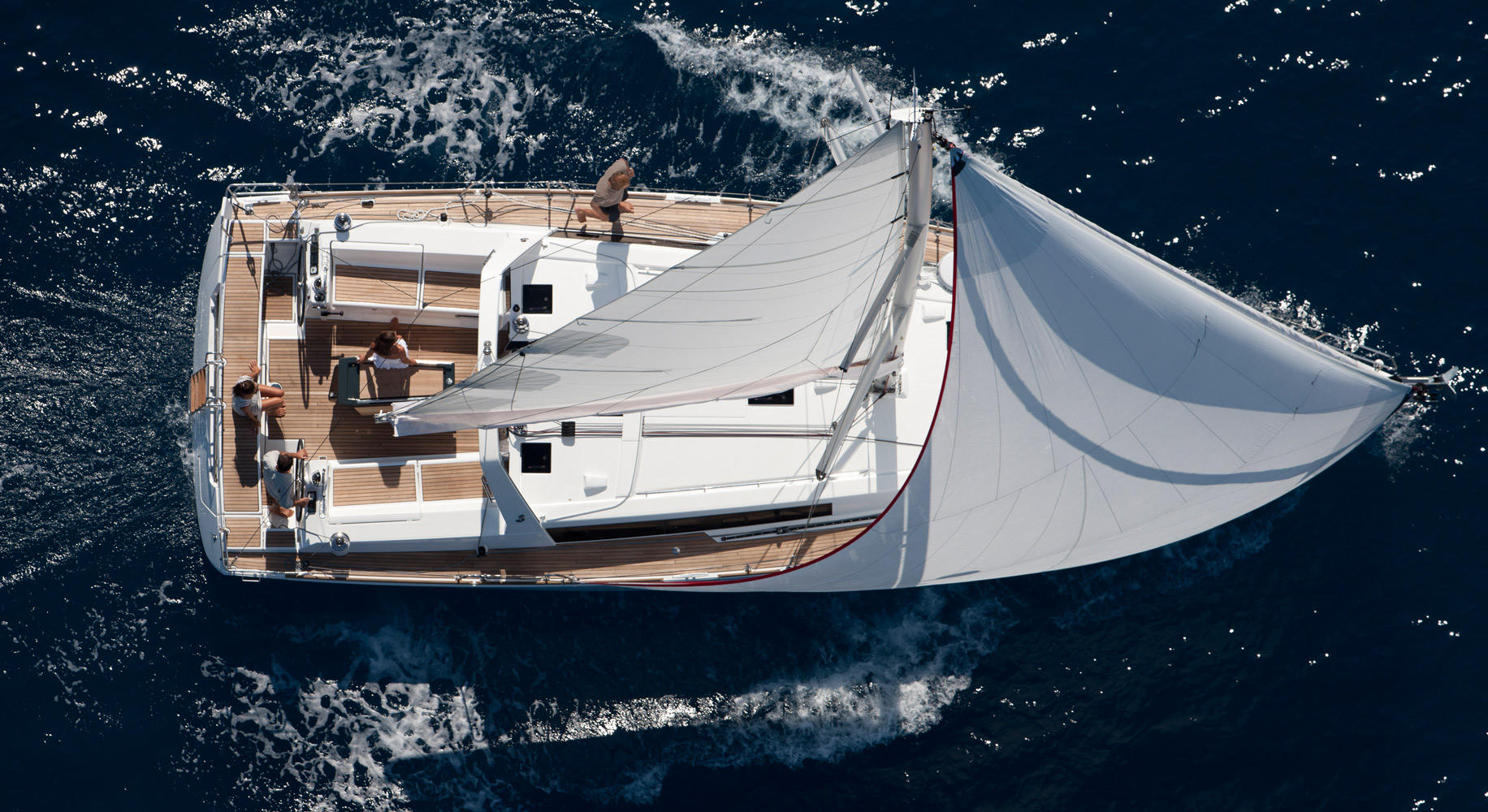 oceanis45foto barca a vela 4 cabine