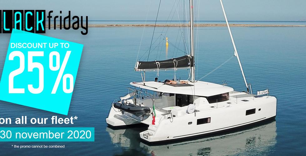 Black friday 2020 Sunsicily yacht charter