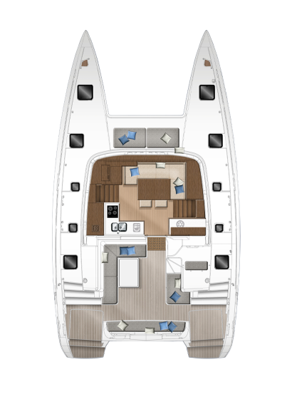 Lagoon 40-cockpit