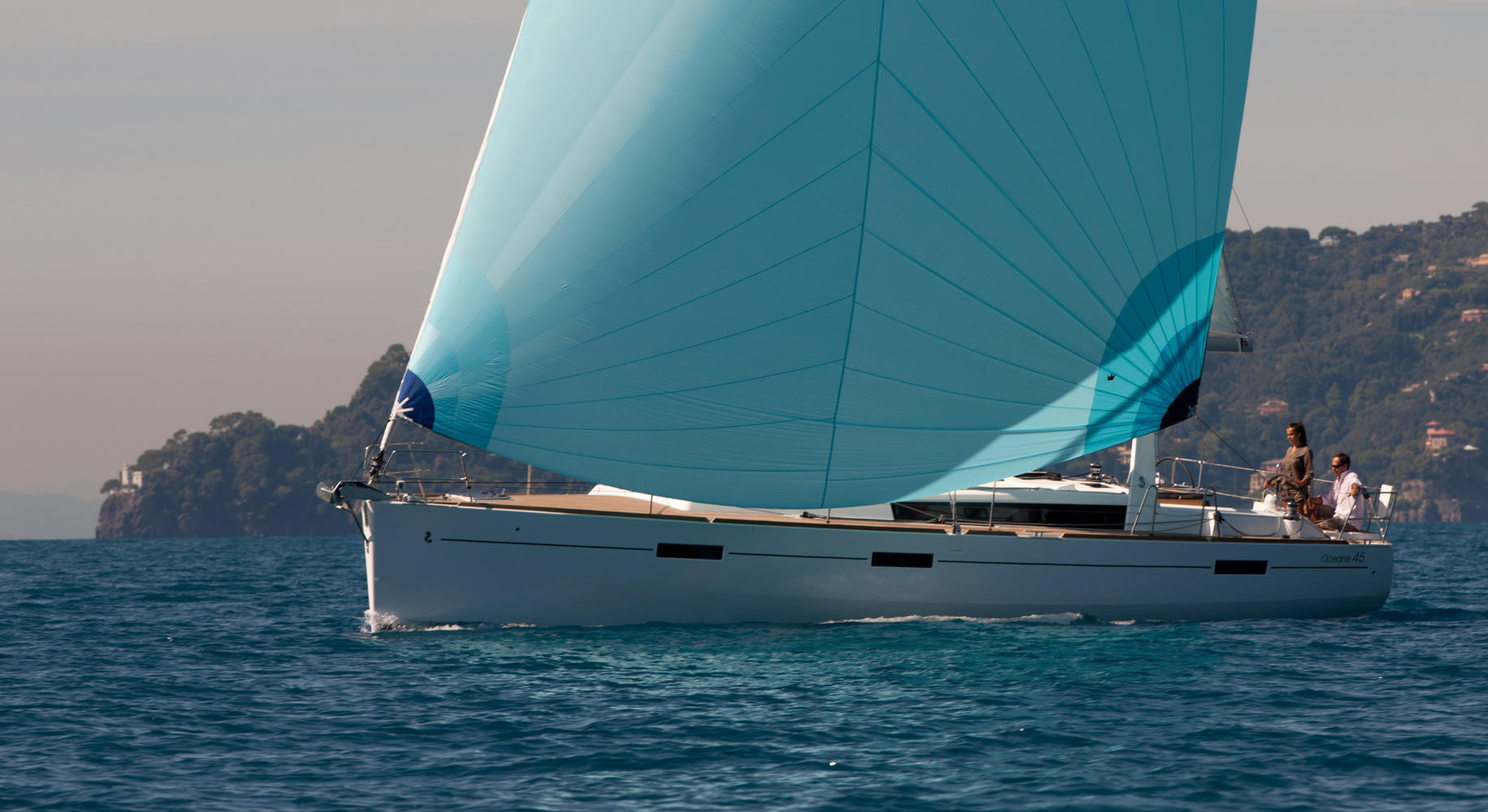 oceanis45 barca 2019 Isole Eolie