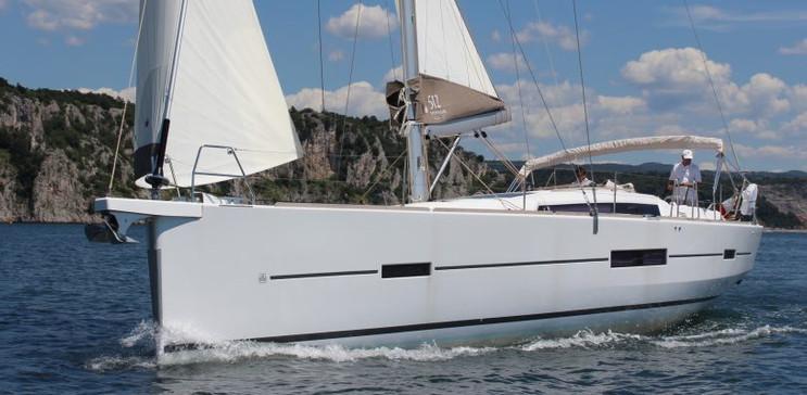 dufour 512 grand large a noleggio charter Sardegna