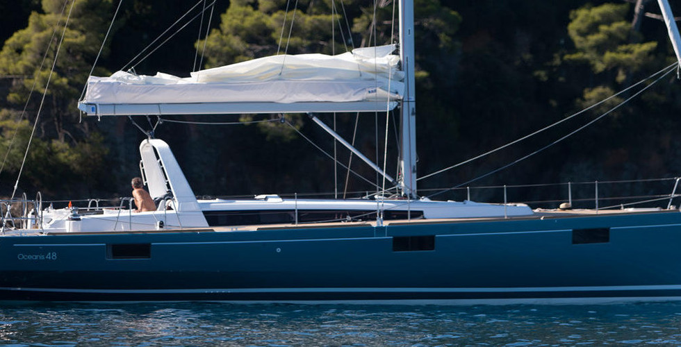 oceanis 48 5 cabins boat to rent in Sici