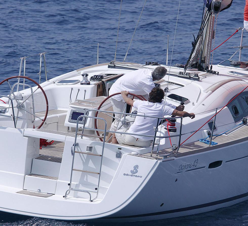 oceanis_43 barca a vela 3cabine 2 bagni Sun Sicily yacht