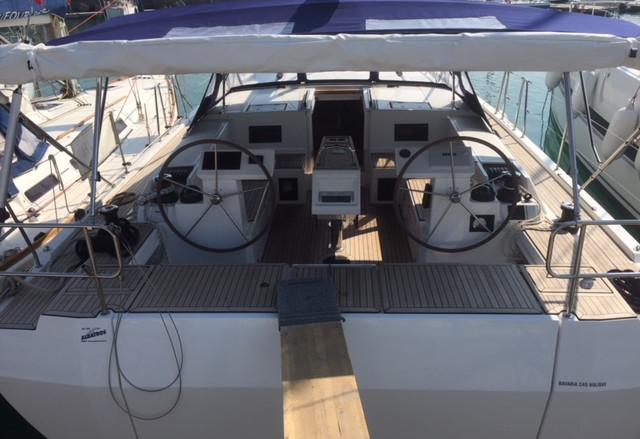 barca a vela bavaria 45c a noleggio da Salerno