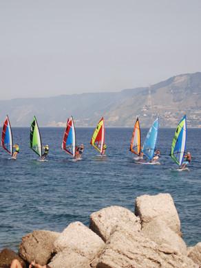 Surf nello Stretto di Messina