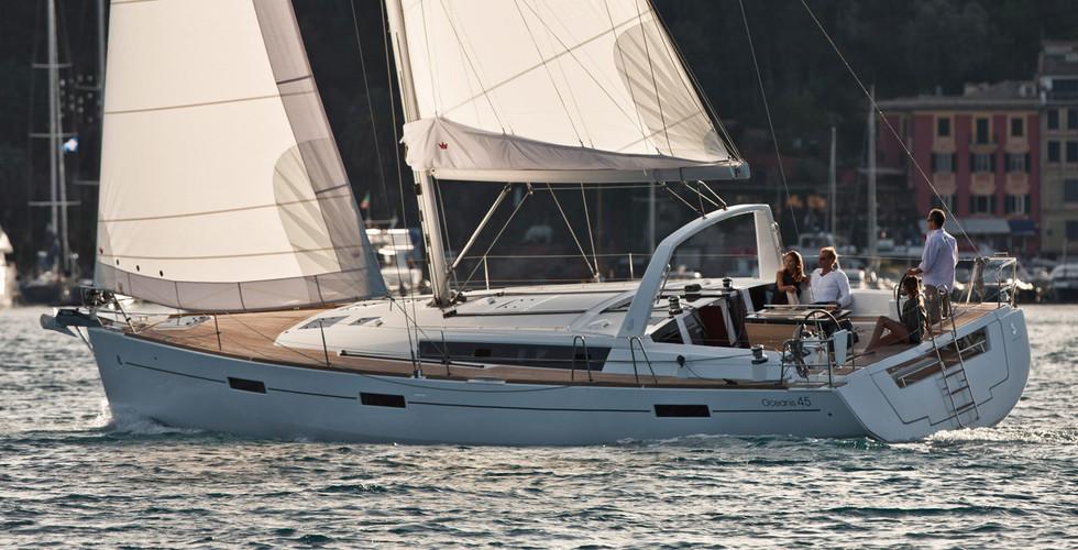 oceanis45 4 cabine 2 wc SunSicily