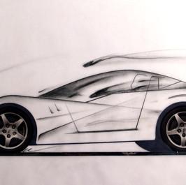 Design study on Corvette's chassis