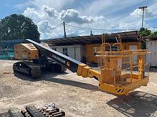 crawler telescopic boom lift