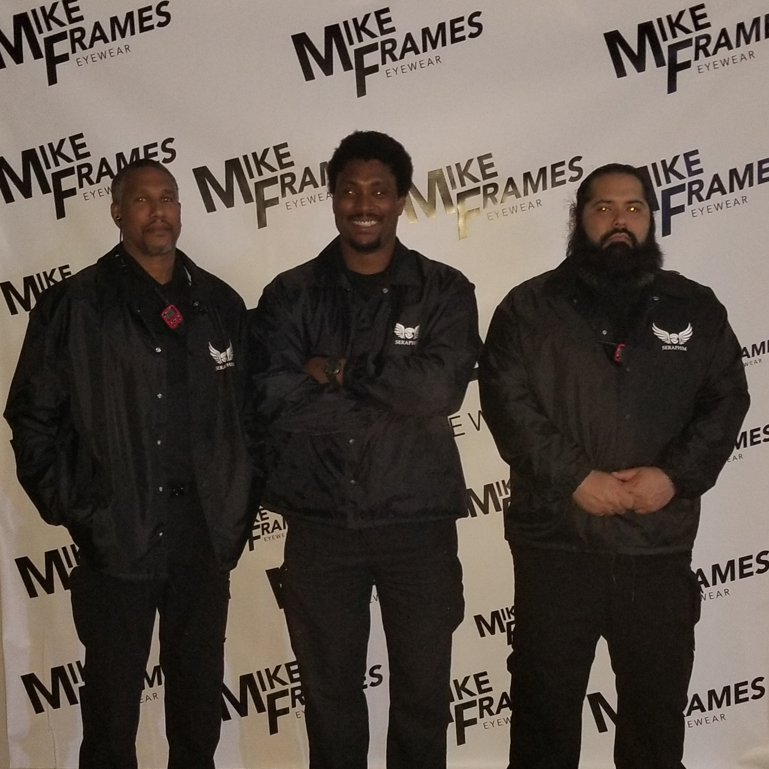 Mike James Frames Event