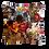 """Thumbnail: Coussin """"DIVERGENCE"""" 45x45cm"""