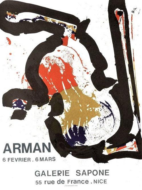 Affiche originale ARMAN