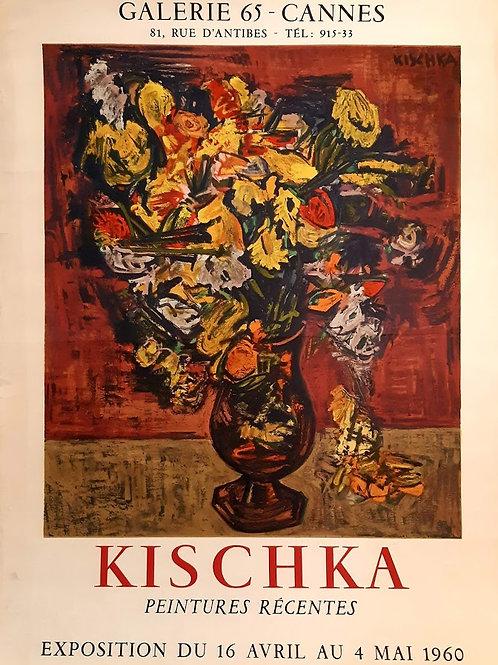 "Affiche "" bouquet"" KICHKA"