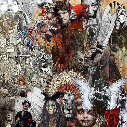 """Tirage d'art  """"Indian death"""""""