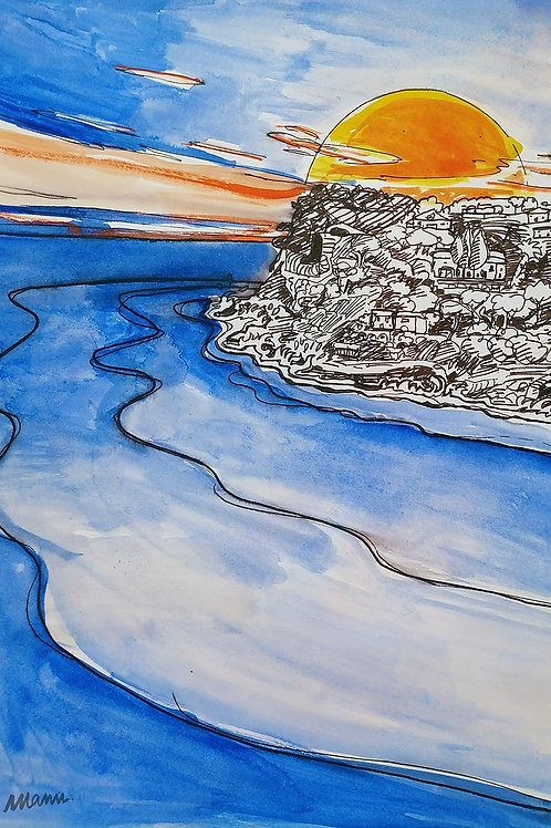 Tirage d'Art - Carry le Rouet la plage