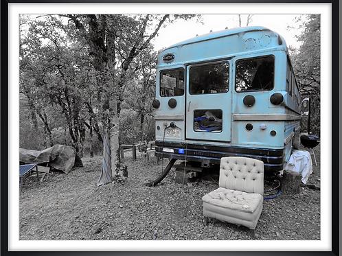 Bus Bleu Nevada City