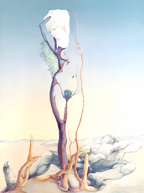 Lithographie originale JP CLEREN - VENUS