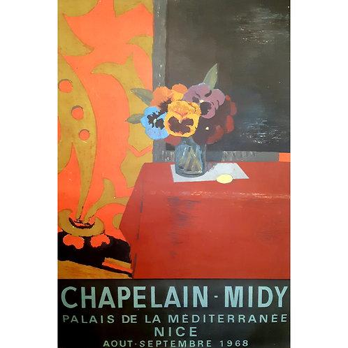 Affiche originale CHAPELAIN MIDY