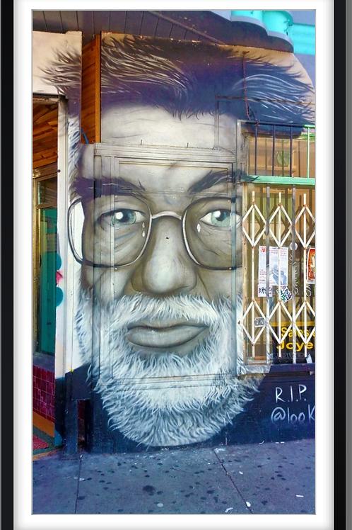 Street art Jerry Garcia